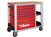 BETA 024002103 C24SL R-MOBILE ROLLER CAB RED C24 SL/R