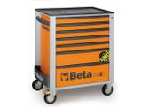BETA 024002171 C24SA 7/O-ROLLER CAB 7 DRAWERS,ANTI-TILT C24SA 7/O