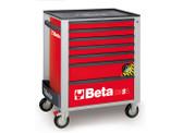 BETA 024002173 C24SA 7/R-ROLLER CAB 7 DRAWERS,ANTI-TILT C24SA 7/R