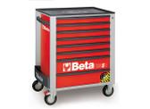 BETA 024002183 C24SA 8/R-ROLLER CAB 8 DRAWERS,ANTI-TILT