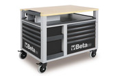 BETA 028000302 C28 G-SUPERTANK TROLLEY 10 DRAW. GREY