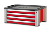 BETA 039000103 C39T R-PORTABLE TOOL CHEST 4 DR. RED