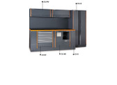 BETA 055000022 C55 AB/2-GARAGE FURNITURE COMBINATION