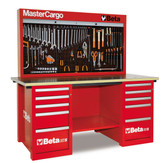 BETA 057001402 C57S B/R-MASTERCARGO WORKBENCH RED