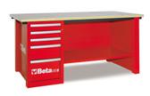 BETA 057001404 C57S D/R-MASTERCARGO WORKBENCH RED