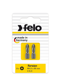 "FELO 62913 Phillips 3 x 1"" Torsion Bit *NEW* - 2 per pkg"