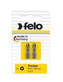 "FELO 62931 Torx T40 x 1"" Torsion Bit *NEW* - 2 per pkg"