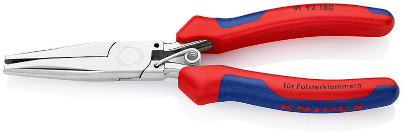 Knipex 91 92 180 Upholstery Hog Ring Pliers Chadstoolbox Com Inc