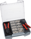 NWS 337-20 (625) Crimp Lever Pliers and End-Sleeves Assortment in Sortimo I-BOXX
