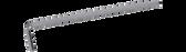 NWS 300L-1,5 Hexagon Keys, long type