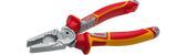 NWS 1093-49-VDE-180 High Leverage Combination Pliers CombiBolt