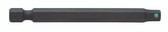 "Bondhus 71310 Hex End Power Bit with ProHold for 1/4"" Hex Drive, 3/16 x 3"" Long"