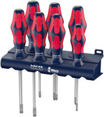 Wera 05227700001 Red Bull Racing Kraftform Plus Screwdriver Set + Rack