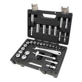 Beta Tools 913 E/C33 Easy Quality Socket Bit, Black, 3/8-inch, Set of 33