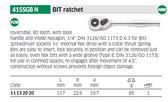 Stahlwille 11132020 Bitratchet