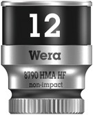 "WERA  05003727001 8790 HMA HF Zyklop Socket with 1/4"" Drive with Holding Function, 12.0 mm"