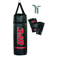 UFC 70lb 3 Piece Punch Bag Set