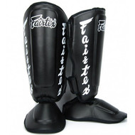 Fairtex SP7 Twister Shin Guards Black