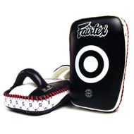 Fairtex KPLC1 Curved Thai Pads Black