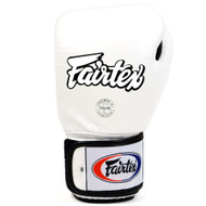 Fairtex BGV1-B Breathable Boxing Gloves White