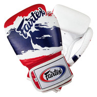 Fairtex BGV1 Thai Pride Boxing Gloves White