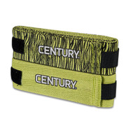 Century Pack of 2 Zebra Hand Wraps Green