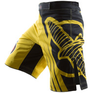 Hayabusa Chikara Recast Mens MMA Fight Shorts Yellow/Black