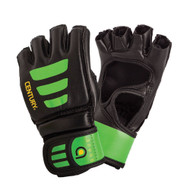 Century Brave Open Palm Youth MMA Gloves Black/Green