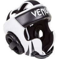 Venum Challenger v2 Hook & Loop Head Guard Black/White