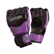 Century Drive Ladies MMA Fight Gloves Black/Purple