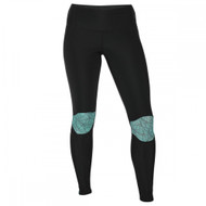 Century Performance Ladies Compression Leggings Black/Green