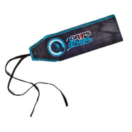 Grips Weight Lifting Wrist Wraps - Cracking Blue