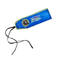 Gr1ps Weight Lifting Wrist Wraps - Blue Wall