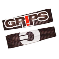 Grips Athletics Honeycomb Mens Rash Guard Sleeves Black