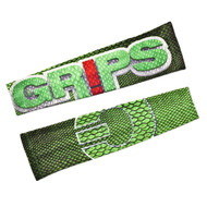 Grips Athletics Snake Mens Rash Guard Sleeves Green