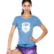 Grips Athletics Kettleheart Ladies T Shirt Blue