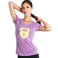 Grips Athletics Kettleheart Ladies T Shirt Purple