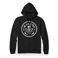 Newaza In Jiu Jitsu We Trust Mens Hoodie Black