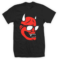 Newaza Hannya Mask Mens T-Shirt Black/Red