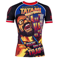 Tatami Fightwear The Professor Mens Rash Guard Black/Red