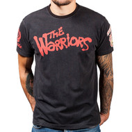 Scramble x The Warriors Mens T-Shirt Black
