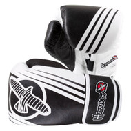 Hayabusa Ikusa Recast 16oz Boxing Gloves Black/White