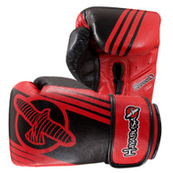 Hayabusa Ikusa Recast 16oz Boxing Gloves Black/Red