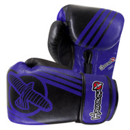 Hayabusa Ikusa Recast 14oz Boxing Gloves Black/Blue