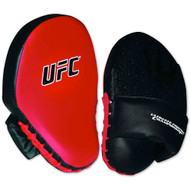 UFC Youth Focus Mitts Black/Red