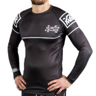 Scramble v2.0 Ranked Rash Guard Black