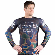 Scramble State of No Mind Rash Guard Camo