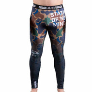 Scramble State of No Mind Compression Leggings Camo