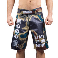 Scramble State of No Mind Fight Shorts Camo