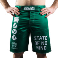 Scramble State of No Mind Fight Shorts Green